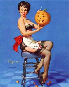 347px-Pin_up;_Vintage;_Pumpkin;_Halloween;_Apron;_Love
