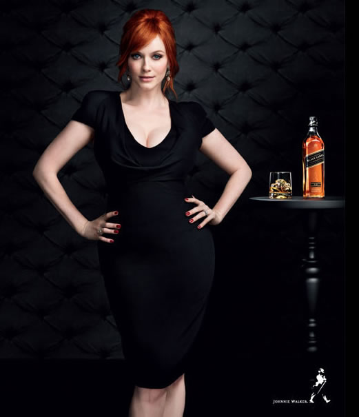 Christina Hendricks Black Label